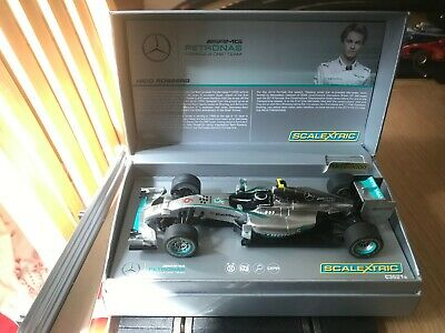 Scalextric Ca Rosberg special edition includes fitted