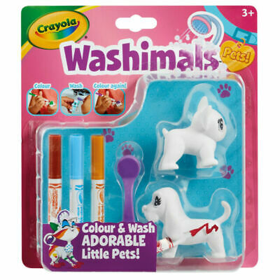 Crayola Washimals Cats Colour and Wash Pet Creative