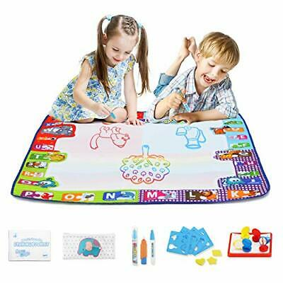 Fansteck Water Magic Doodle Mat, Colourful Educational Toy