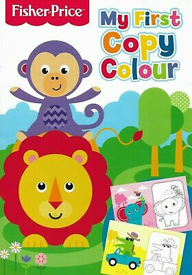 Fisher Price: My First Colouring Copy, Fun Toddler Kids