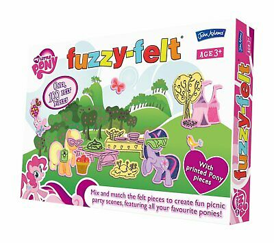 Fuzzy Felt My Little Pony Make Different Picture Every Time
