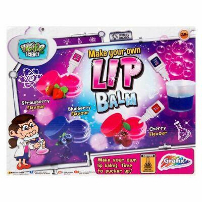 Make Your Own Lip Balm Kit Girls Activity Set Present For