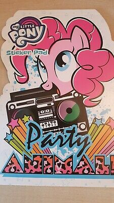My Little Pony Party Animal Shaped Sticker Pad - Children 3