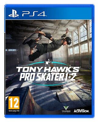 Tony Hawk Pro Skater 1+2 (PS4) Brand New