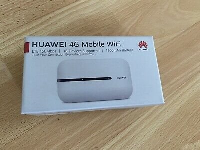 UNLOCKED HUAWEI Es-320 CAT mbps 4G LTE MOBILE WIFI
