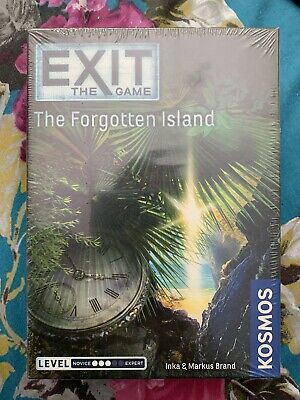 Exit The Game The Forgotten Island Kosmos Escape New Sealed