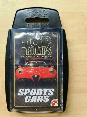 TOP TRUMPS SPORTS CARS NEW PACK SEALED