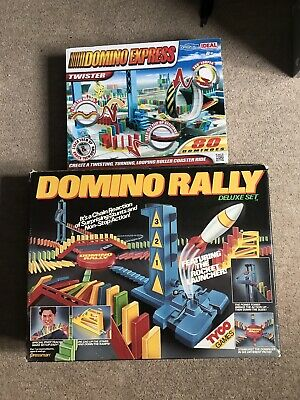 Vintage Tyco Domino Rally Deluxe Set And Domino Express By