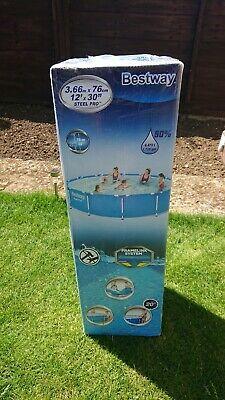 Bestway FT x 30 inch Round Frame Pool Set 366 x 76cm