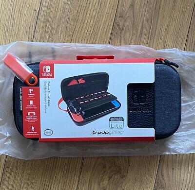 Nintendo - Game Traveler Deluxe Travel Case - Black