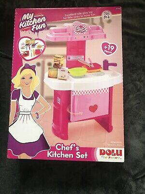 Dolu Children Kids Little Chef Pretend Play Kitchen Playset