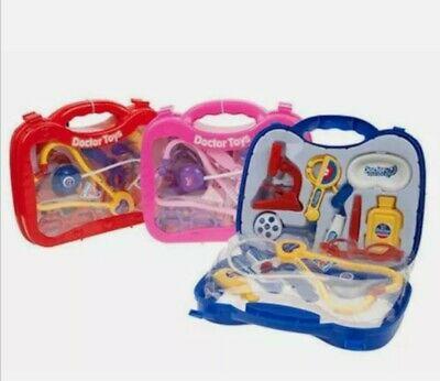 Kids Childrens Role Play Doctor Nurses Toy Medical Set Kit