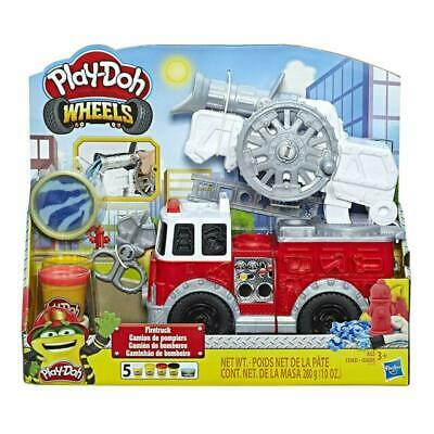 PLAY DOH FIRE TRUCK PLAY SET Play Dough Wheels Fire Engine