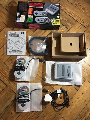 Super Nintendo SNES Mini Classic Opened Once