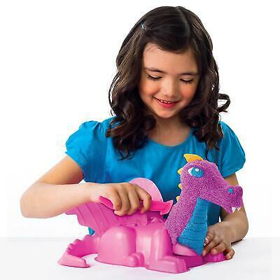 Children kinetic Play Foam Enchanted dragon Tools 5X50gm