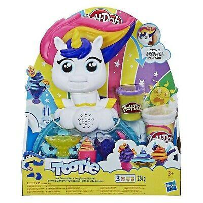 Play-Doh Tootie The Unicorn Ice Cream Set with 3 Non-Toxic