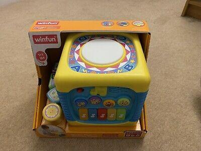 "Winfun Kids Child Baby ""Music fun"" Activity Cube Sound"