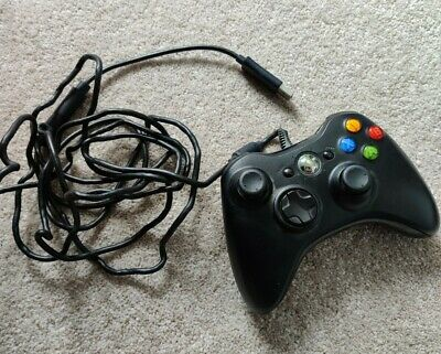 Official Microsoft Xbox 360 Gamepad For Xbox 360 and PC