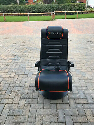 X Rocker Afterburner Gaming Chair with Wireless Connectivity
