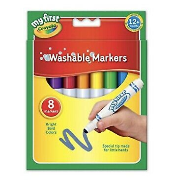 BARGAIN! Crayola My First Washable Marker Pens 8 Pack