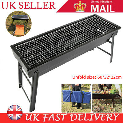 BBQ Grill Portable Folding Charcoal Large Barbecue Garden