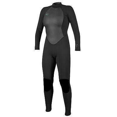 O'neill Reactor Ii 3/2mm Back Zip Womens Surf Gear Wetsuit -