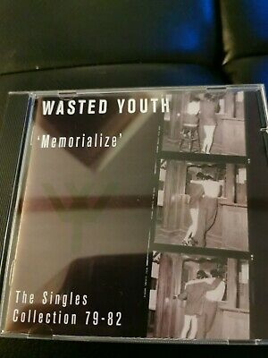 Wasted Youth - Memorialize (The Singles Collection  CD