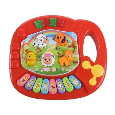 1X(Baby Kids Musical Educational Animal Farm Piano