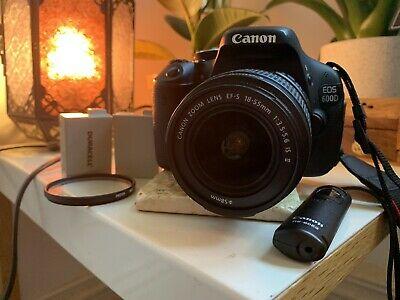 Canon EOS 600D 18.0MP - Black (Kit w/ EF EF-S mm Lens)