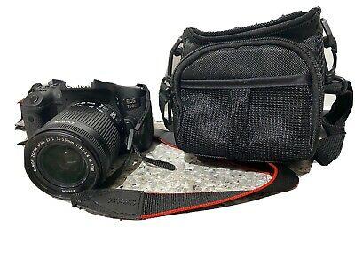 Canon EOS 750D 24.2MP Digital SLR Camera - Black (Kit w/ EF