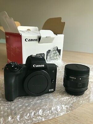Canon EOS M MP Digital SLR Camera - Black (Kit with