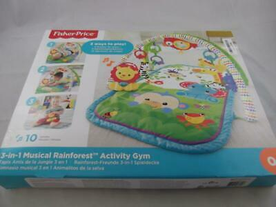 Fisher Price 3 In 1 Musical Rainforest Infant Activity Gym