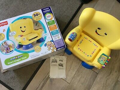 Fisher-Price Laugh and Learn Smart Stages Chair - Yellow
