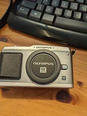 Olympus E PEN E-PMP Digital Camera - Silver with