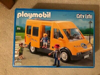 Playmobil  City Life School Bus with Removable Roof