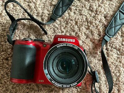 Samsung WB Series WBMP Digital Camera - Red