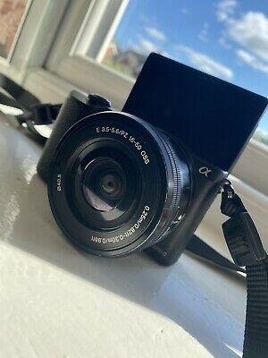 Sony Alpha a Mirrorless Digital Camera with mm Lens