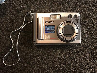 Vivitar ViviCam XMP Digital Camera - Silver