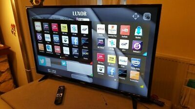 """50"""" SMART LUXOR FULL HD FREEVIEW HD LED TV WITH STAND &"""