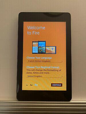 "Amazon Kindle Fire HD 6 4th Gen 6"" Tablet 1.2ghz 16gb"