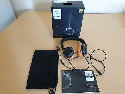 Philips Fidelio M1 MK II Black Hi-Res On-Ear Headphones 6 -
