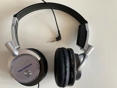 Sony MDR-NC6 Headband Headphones - Silver Very good
