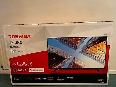 "Toshiba 65ULDB 65 "" Inch TV Smart 4K Ultra HD LED"