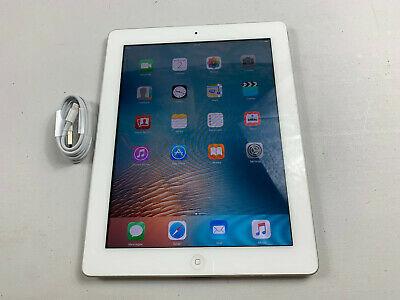Apple iPad 2 16GB WiFi only iOS 9, White Ref P605