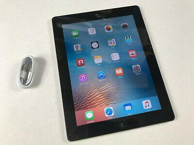 Apple iPad 2 32GB, Wi-Fi, 9.7in - Black iOS 9 only Ref P551