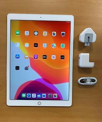 Apple iPad Pro 1st Gen. 128GB, Wi-Fi, 12.9 in - Gold (Read
