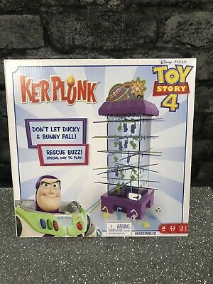 Disney Pixar Toy Story 4 Kerplunk Game New In Box Nice Gift