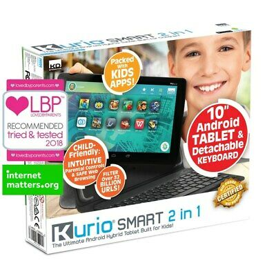 Kurio Android 10'' Tablet with Keyboard brand new