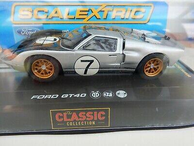SCALEXTRIC C FORD GT MK II No 7 LE MANS  - BNIB