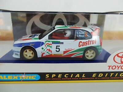 Scalextric C Toyota Corolla No 5 Special Limited Edition